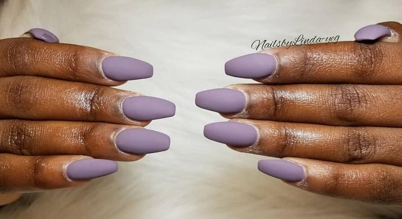 Matte nails (Courtesy)