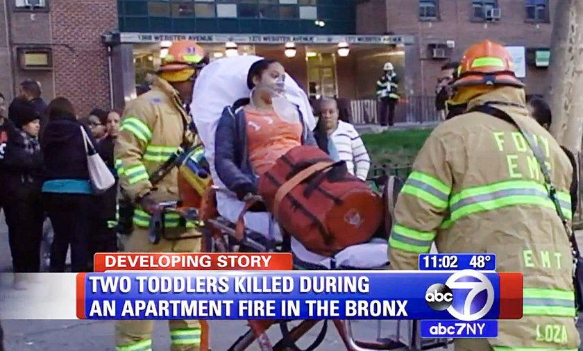 Dzieci zginęły w pożarze. Ich matka wyszła zrobić pranie