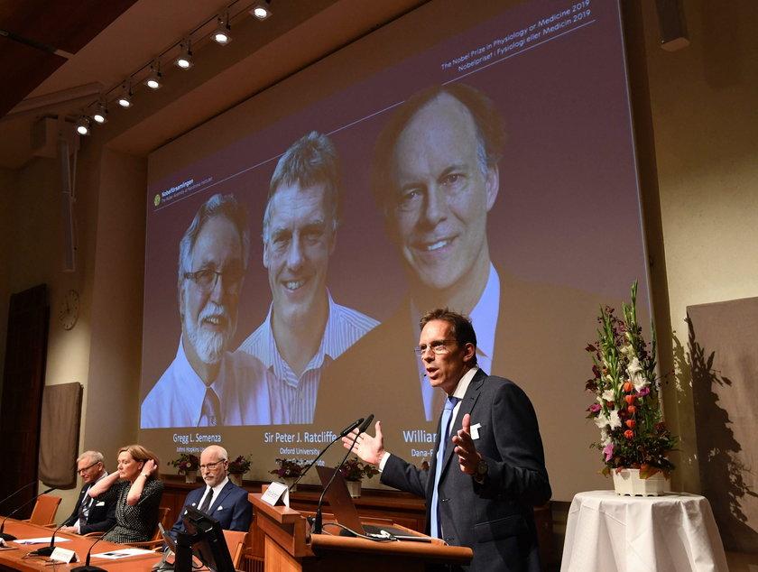 Nagroda Nobla 2019 z fizjologii i medycyny