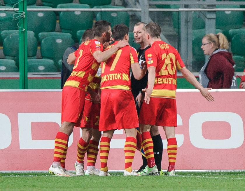 Kontrowersje po meczu Legia - Jagiellonia
