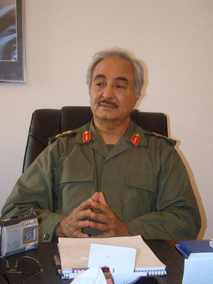 Kalifa Haftar Wikipedia Magharebia