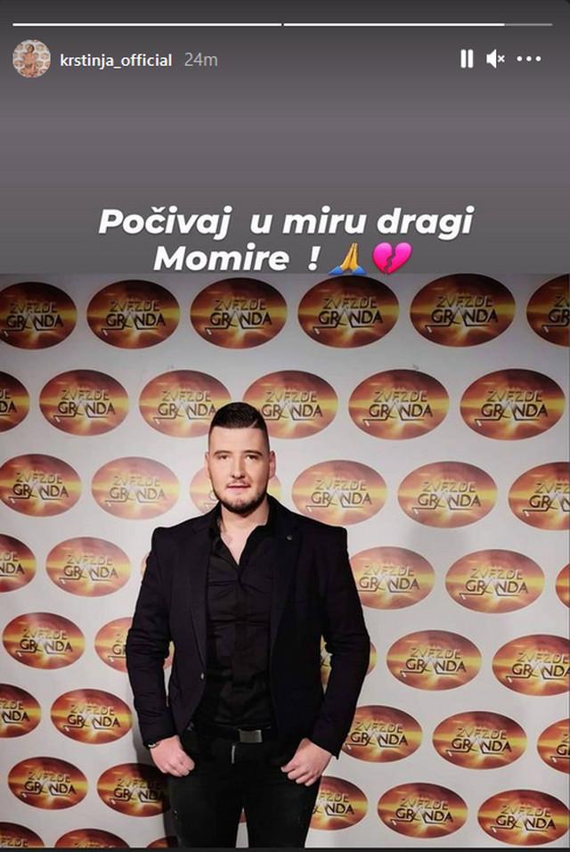 Objava Krstinje Todorović