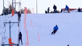 Mazury dla narciarzy - gdzie można jeździć na nartach