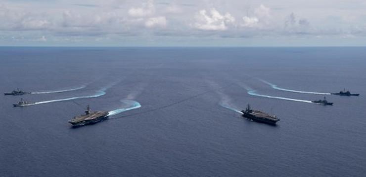Američki ratni brodovi u Južnom kineskom moru profimedia-0540858316