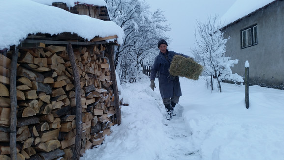 Zbog snega nedostupno je oko 5.000 stanovnika