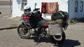 Podróż życia przerwana w Polsce kradzieżą motocykla