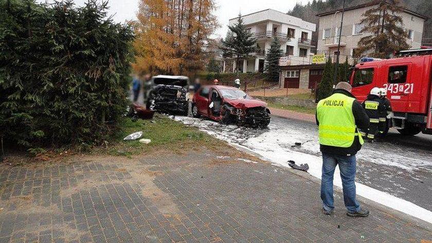 Tragiczny wypadek w Muszynie
