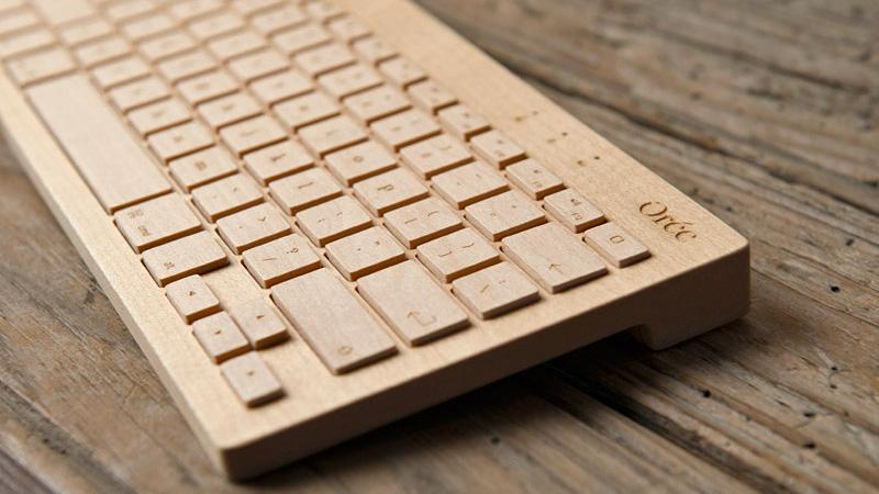 Kup sobie drewnianą klawiaturę