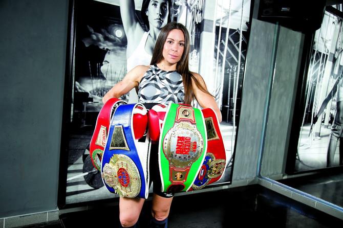 Nina je vlasnica četiri šampionska pojasa