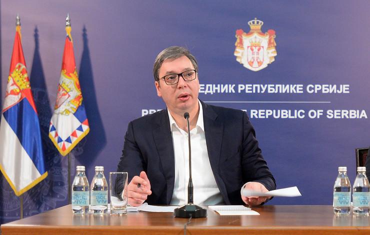 Aleksandar Vučić, Kosovo, Srbi, sastanak