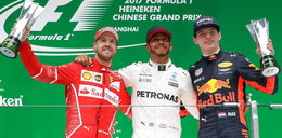 F1 w Chinach: to była dominacja jednego zawodnika