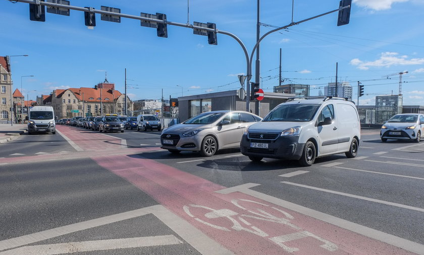 Wojewoda wielkopolski skontrolował drogi w Poznaniu