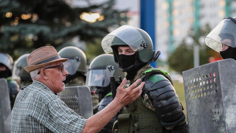 Demonstracje na Białorusi