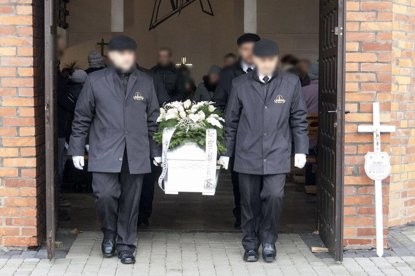 Pogrzeb zamordowanej Oliwii w Gliwicach