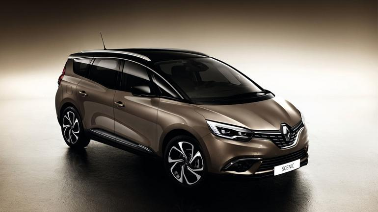 Nowy Renault Grand Scénic - kompaktowy van w większym wydaniu