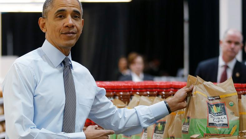 Obama in costco