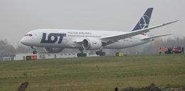 Problemy z silnikiem dreamlinera LOT-u. Samolot musiał zawrócić