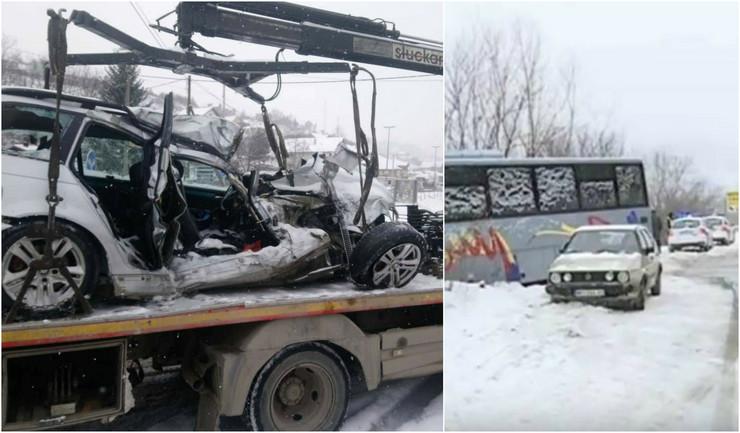 Tri osobe poginule u stravičnom udesu