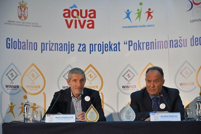 Miloš Stojisaveljević i Mladen Šarčević