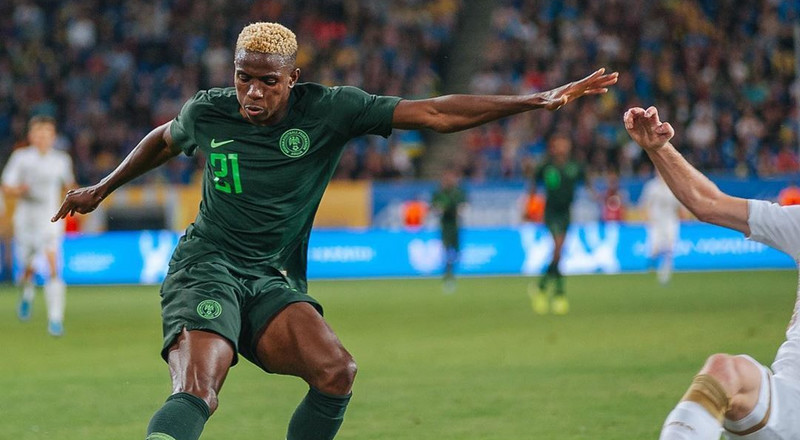 Victor Osimhen returns, Wilfred Ndidi still missing as Super Eagles 24-player squad for AFCON 2021 qualifiers against Sierra Leone is unveiled