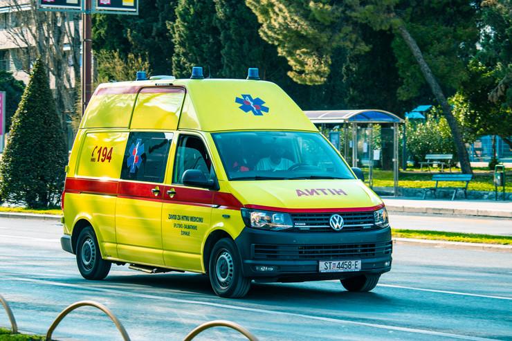 Hitna pomoć Split Hrvatska pokrivalica