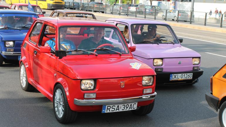 13 Ogólnopolski Zlot Fiata 126p w Warszawie