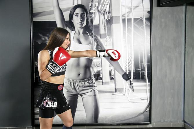Nina Radovanović, srpska šampionka u boksu