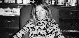 Gisele Bundchen w wersji black&white