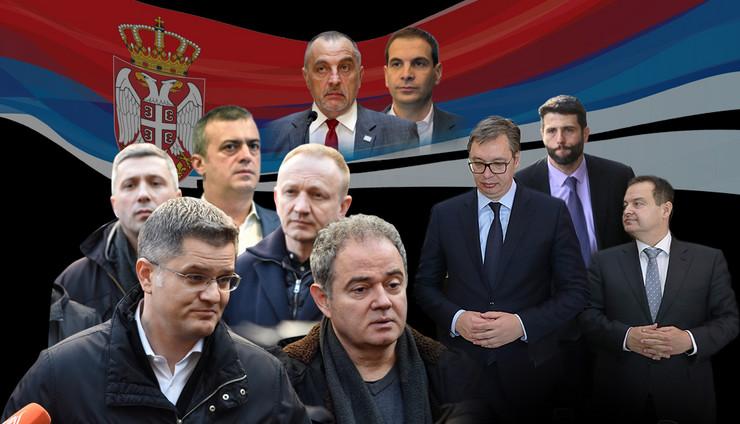 izbori kombo RAS Snezana Krstic Tanjug Filip Kraincanic, Tanjug Dragan Tanasijevic, Tanjug Bojan Stekic, Sava radovanovic, shutterstock