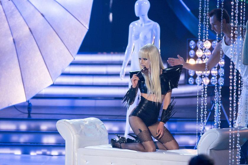 """Natalia Szroeder jako Lady Gaga w """"Twoja twarz brzmi znajomo"""""""