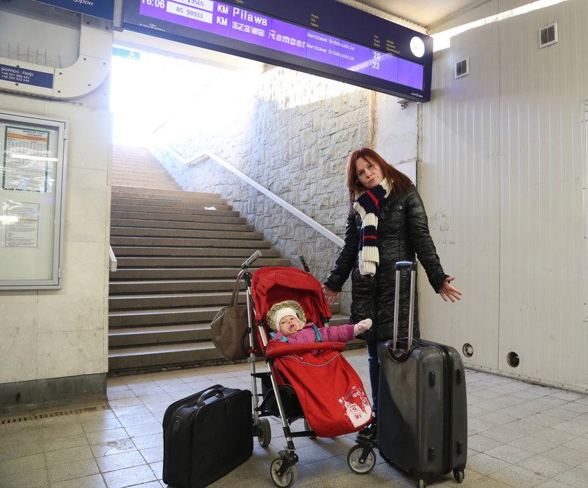 Dworzec Zachodni nieprzyjazny matkom
