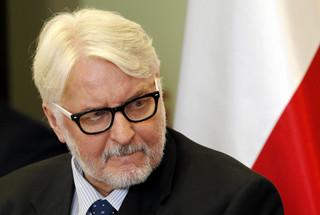 Waszczykowski o decyzji KE: Przywódcy europejscy pójdą po rozum do głowy i w którymś momencie odpuszczą