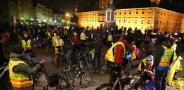 Masa krytyczna na ulicach Warszawy
