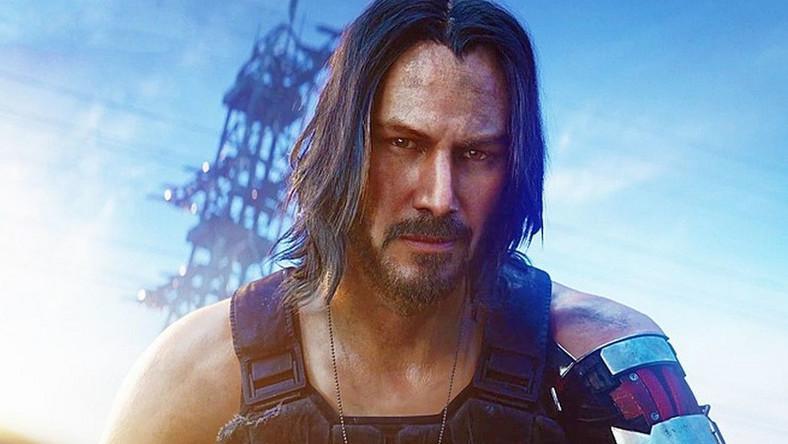 """Keanu Reeves w grze """"CyberPunk 2077"""""""