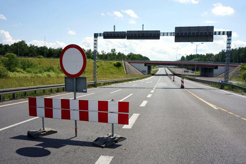 Droga krajowa nr 86 w Katowicach-Giszowcu nieprzejezdna!