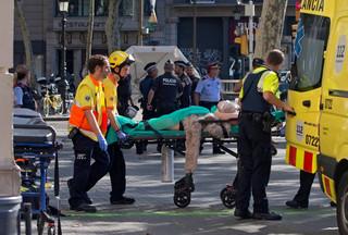 Senator PiS był świadkiem zamachu w Barcelonie: Nagle słychać było potworny huk