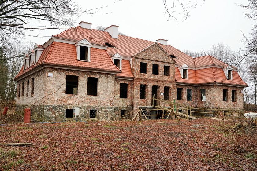 Pałacyk Daniela Obajtka w Borkówku na Pomorzu