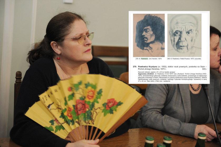 Krystyna Pawłowicz była artystką