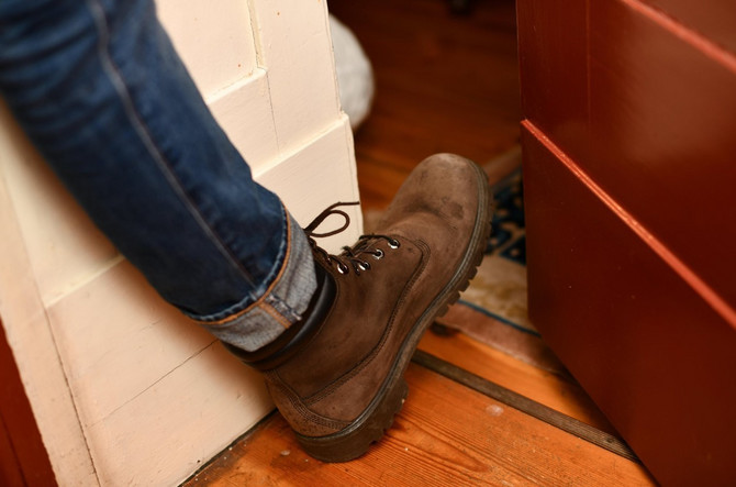 Izujte se pre nego što uđete u kući ili stan