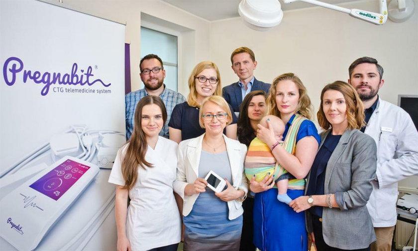 Pregnabit stworzyła dr n. med. Patrycja Wizińska-Socha z Wrocławskiego Parku Technologicznego