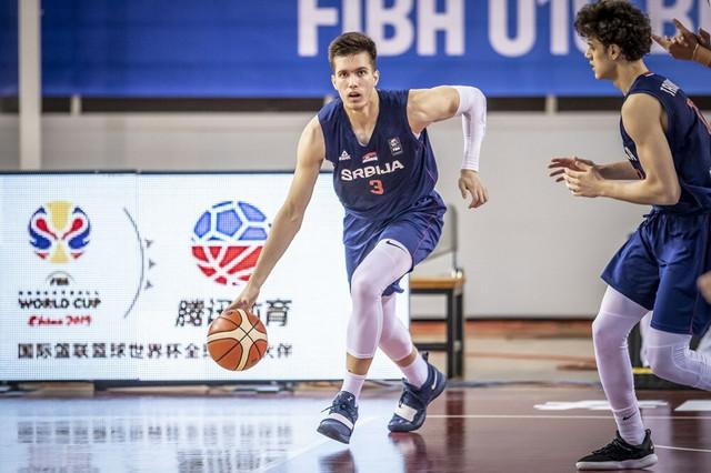 Uroš Trifunović, Filip Petrušev, juniorska košarkaška reprezentacija Srbije