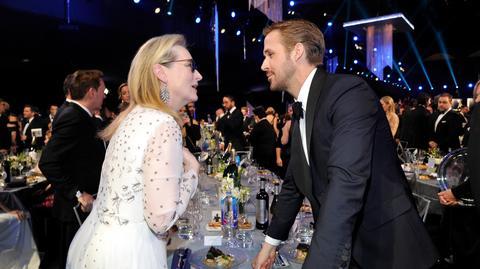 """Maryl Streep i Ryan Gosling prowadzą """"small talk"""""""