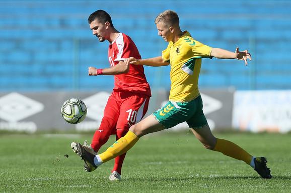 Detalj sa utakmice Srbija - Litvanije