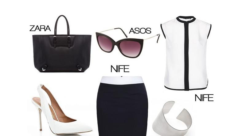 Trend black&white i biznesowy dresscode