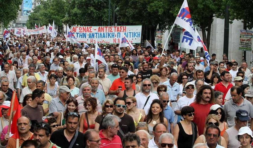 Strajk w Grecji