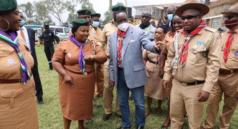 Nairobi Governor Mike Sonko installed as Kenya Scouts Association Nairobi patron