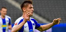 Gol Krzysztofa Piątka nie pomógł. Hertha wysoko przegrała z Eintrachtem