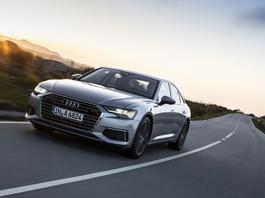Samochód Błażeja - Audi A6