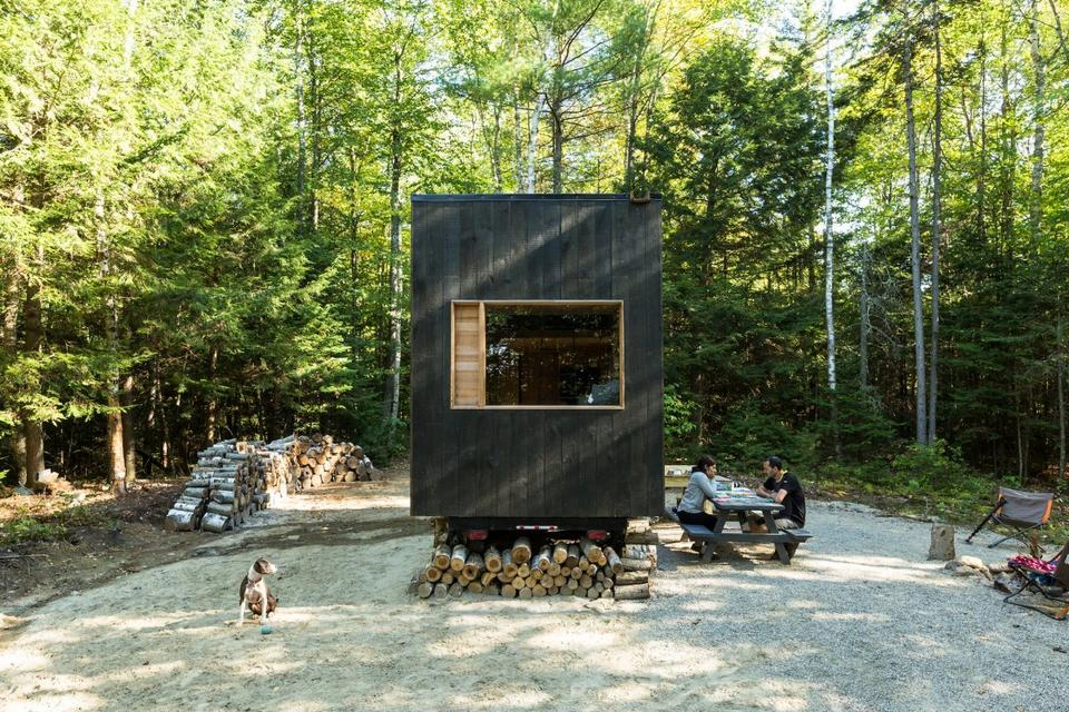 Oto Ovida, pierwszy z małych domów zaprojektowanych i zbudowanych przez Getaway.