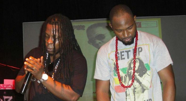 """Edem performing at """"Accra Hip-hop Week"""